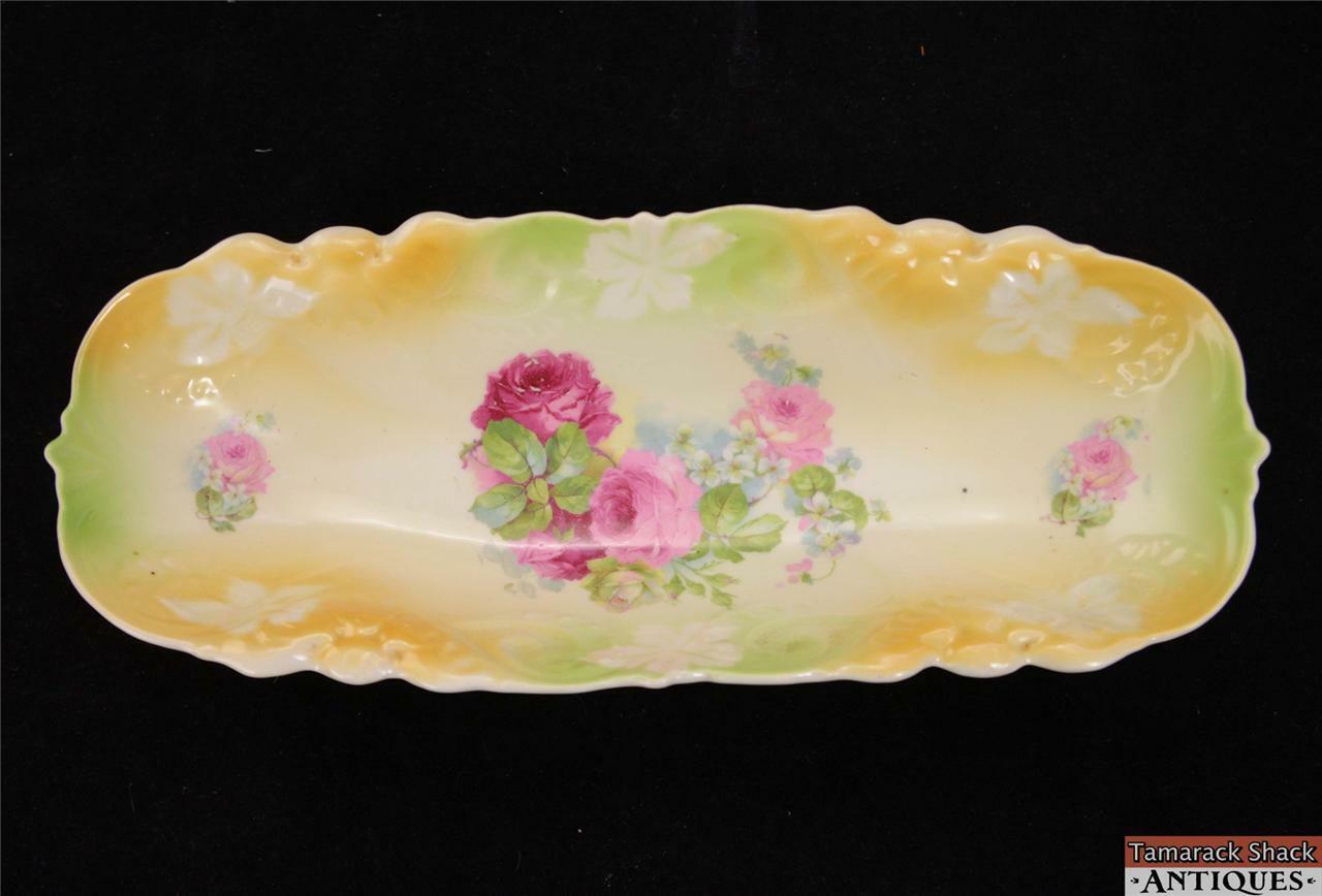 German Oblong 11 Porcelain Celery Dish