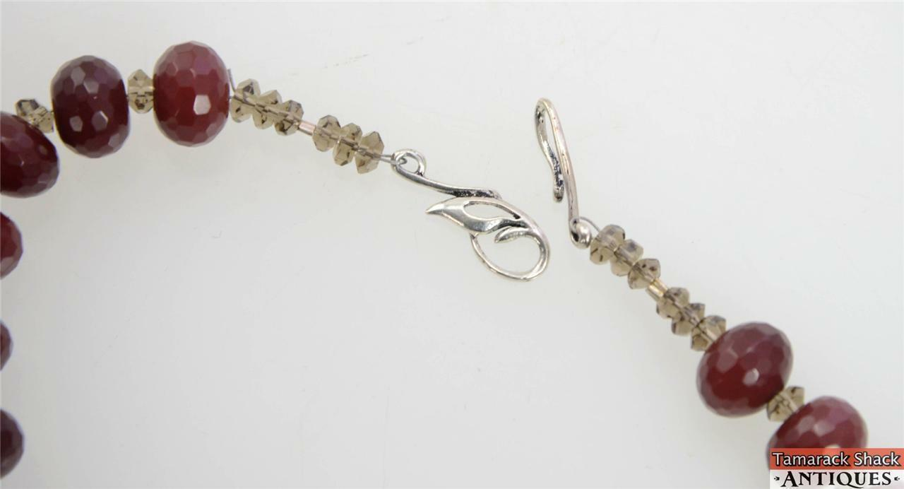 NOS-Ruby-Smokey-Quartz-Czech-Crystal-Necklace-Earring-Set-Pewter-Clasps-291031527530-6.jpg