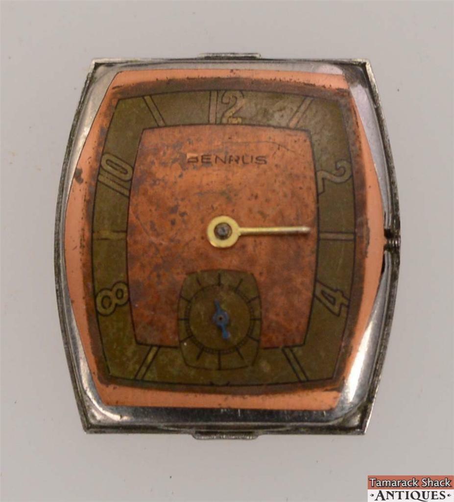 Watch wrist parts - Vintage Benrus Swiss 17j Wrist Watch Model Ar 15 Stonewall For Parts Or Repair Tamarack Shack Antiques