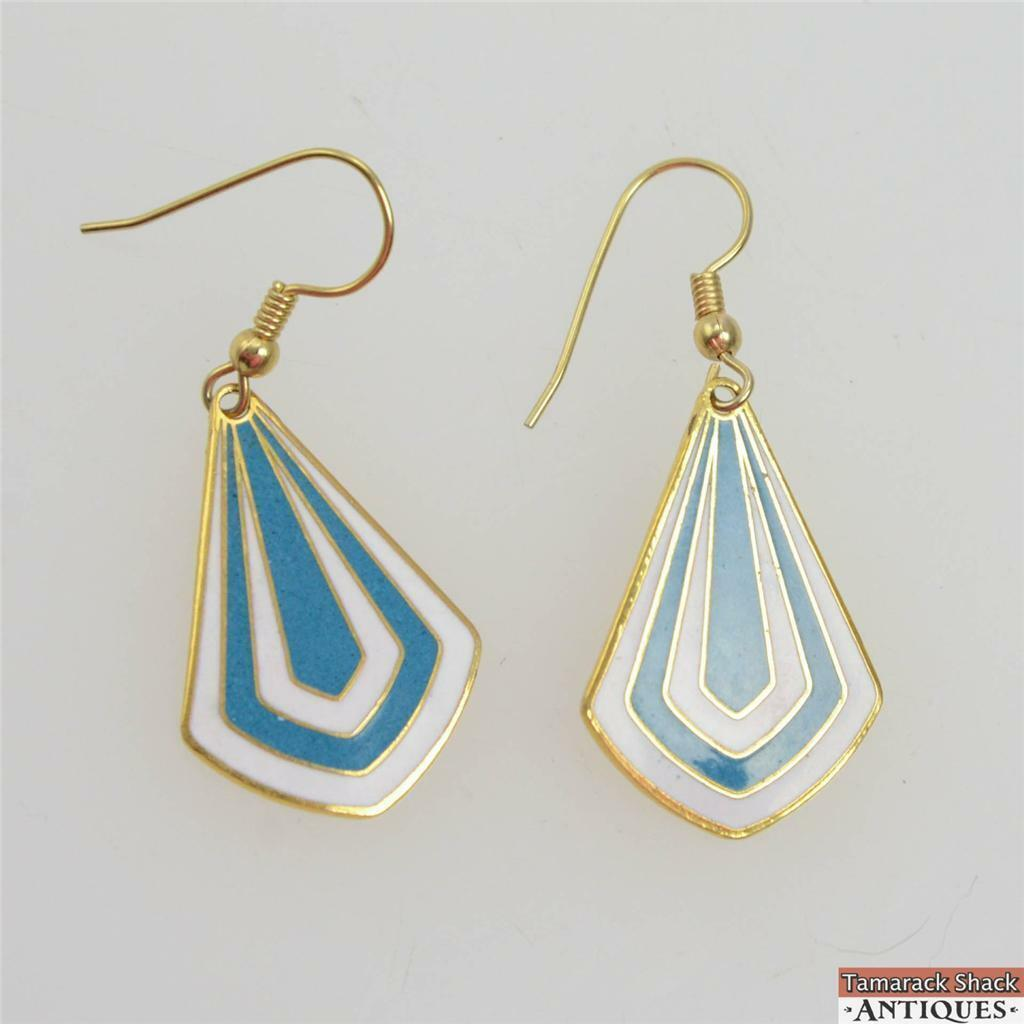 Vintage-Pair-of-Fish-Hook-Enameled-White-Blue-Striped-Dangle-Fashion-Earrings-360826694380.jpg