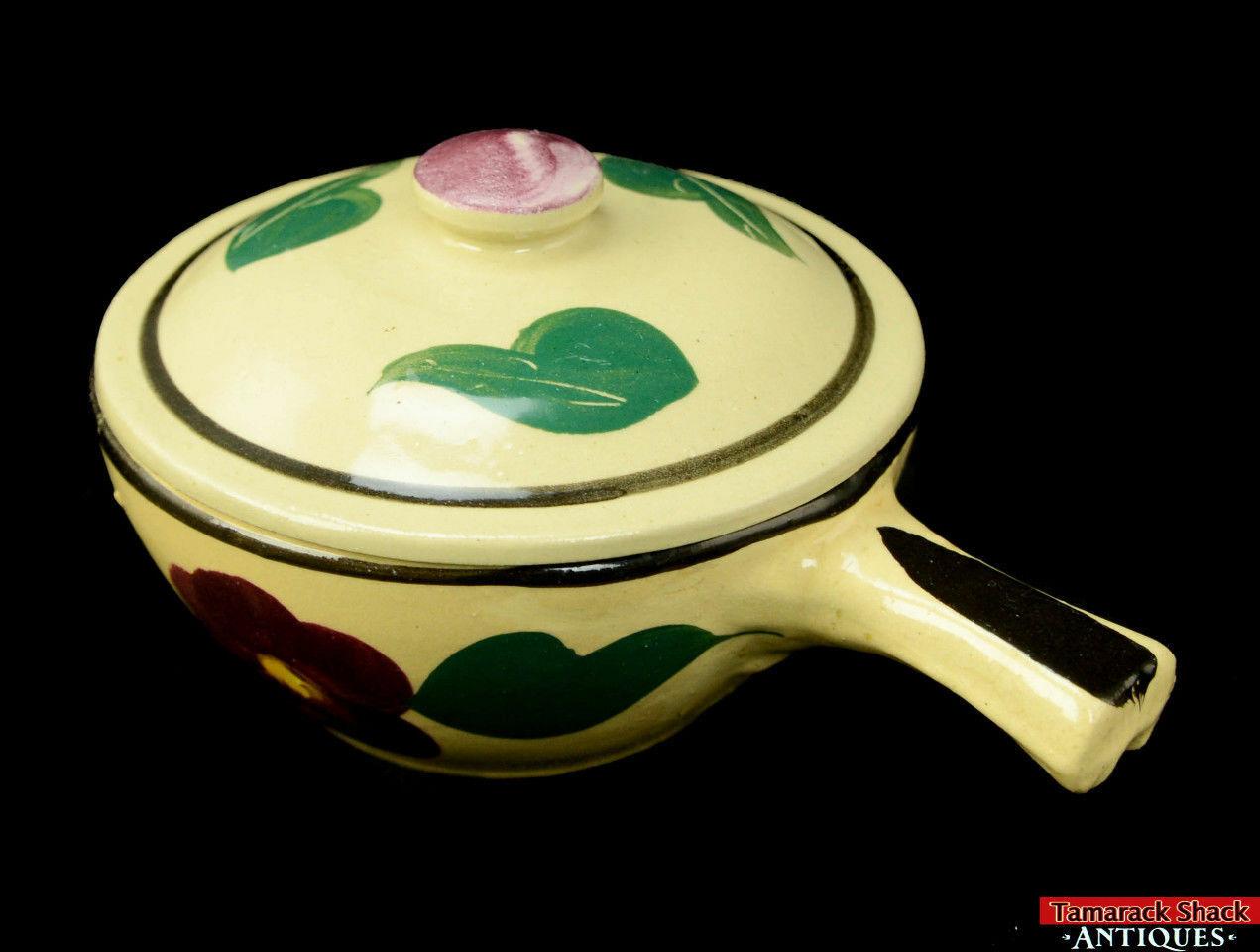 Watt-Pottery-Yellow-Ware-Individual-Covered-Stick-Casserole-Lid-Rio-Rose-VTG-L5Y-291840820870-2.jpg
