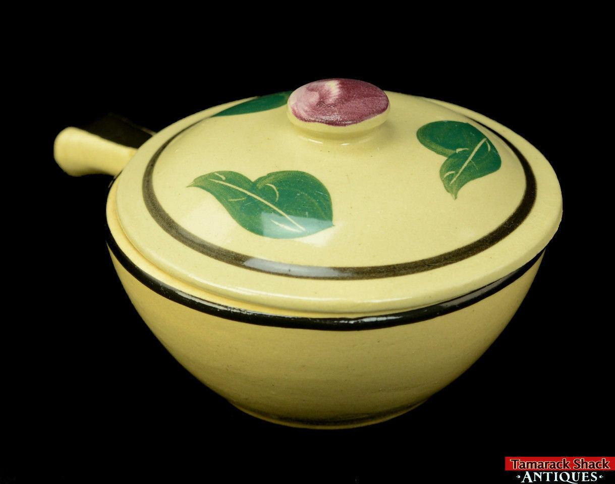 Watt-Pottery-Yellow-Ware-Individual-Covered-Stick-Casserole-Lid-Rio-Rose-VTG-L5Y-291840820870-3.jpg