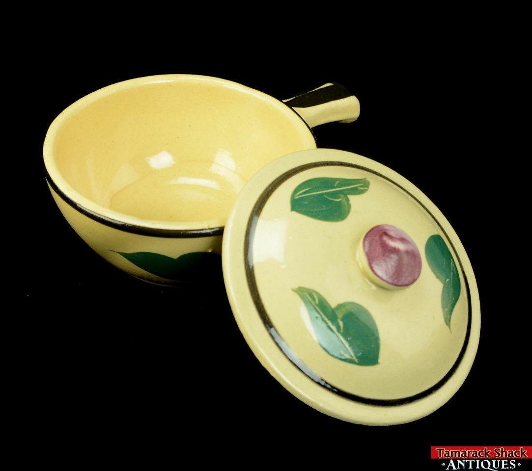 Watt-Pottery-Yellow-Ware-Individual-Covered-Stick-Casserole-Lid-Rio-Rose-VTG-L5Y-291840820870-5.jpg