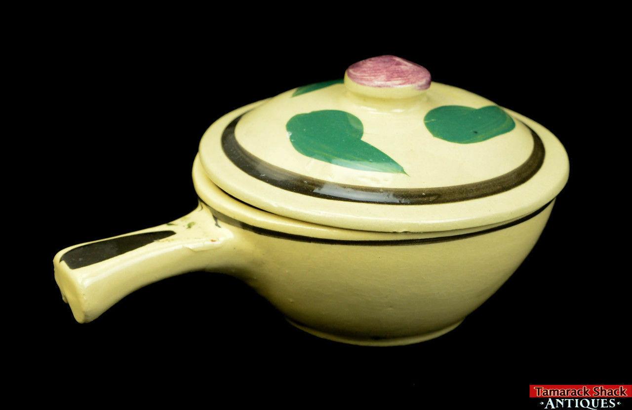 Watt-Pottery-Yellow-Ware-Individual-Covered-Stick-Casserole-Lid-Rio-Rose-VTG-L5Y-361680195750-4.jpg