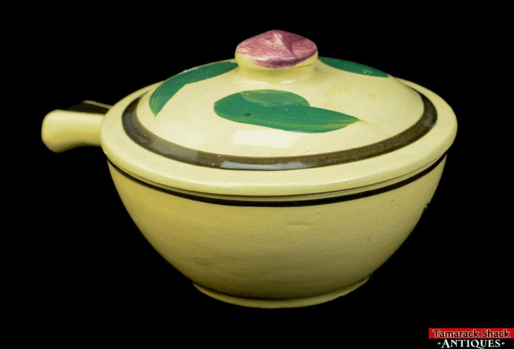 Watt-Pottery-Yellow-Ware-Individual-Covered-Stick-Casserole-Lid-Rio-Rose-VTG-L5Y-361680195750.jpg