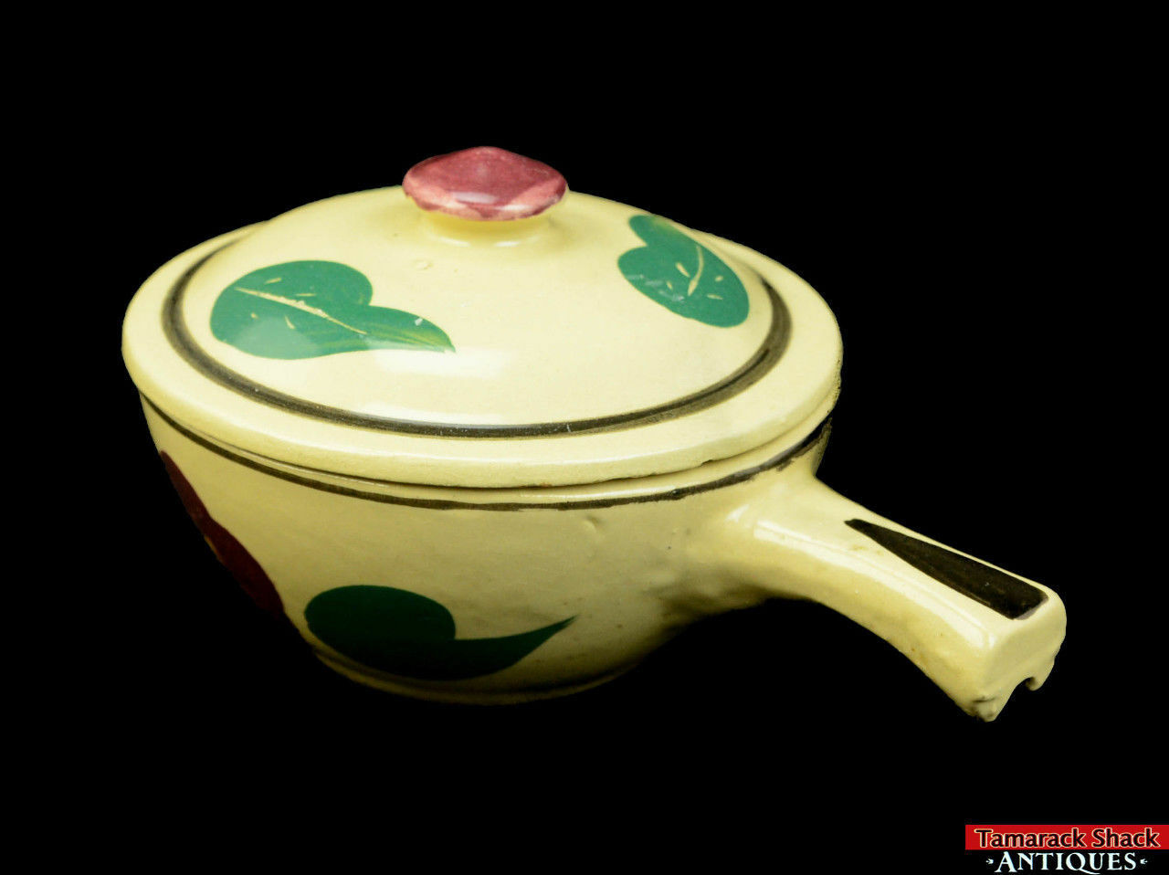 Watt-Pottery-Yellow-Ware-Individual-Covered-Stick-Casserole-Lid-Rio-Rose-VTG-L5Y-361680190681-5.jpg