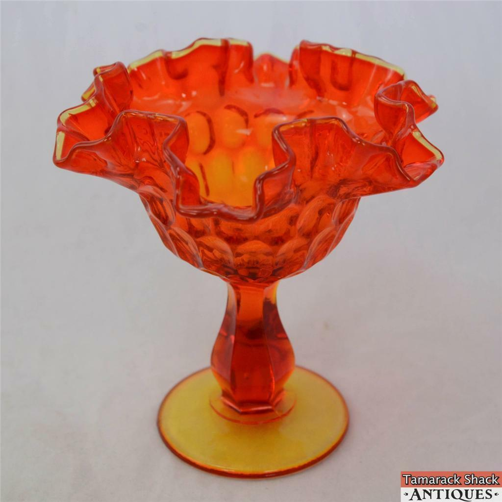 Retro-Bright-Orange-Yellow-Thumbprint-Pattern-Ruffled-Edge-Glass-Compote-VTG-360812540433.jpg