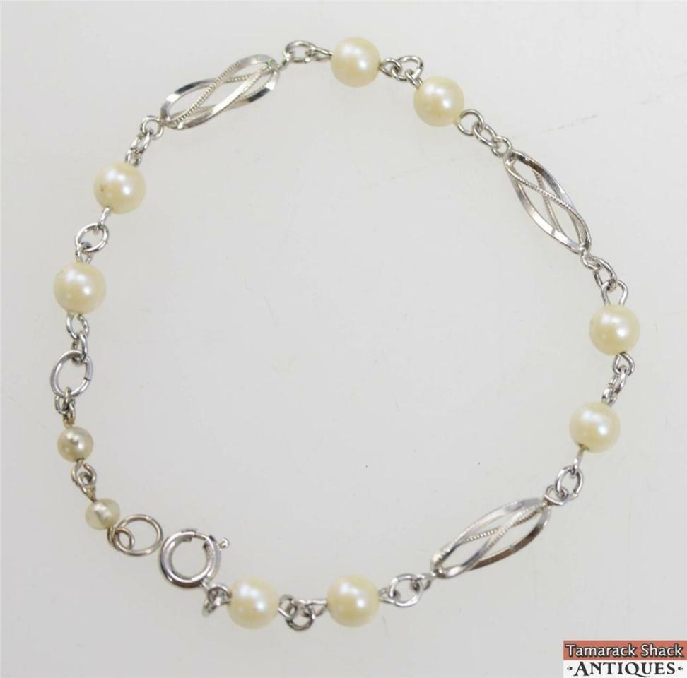 120-12K-White-Gold-Filled-Bracelet-8-14-Inch-Long-Extender-Faux-Pearl-Beads-291049385414-3.jpg