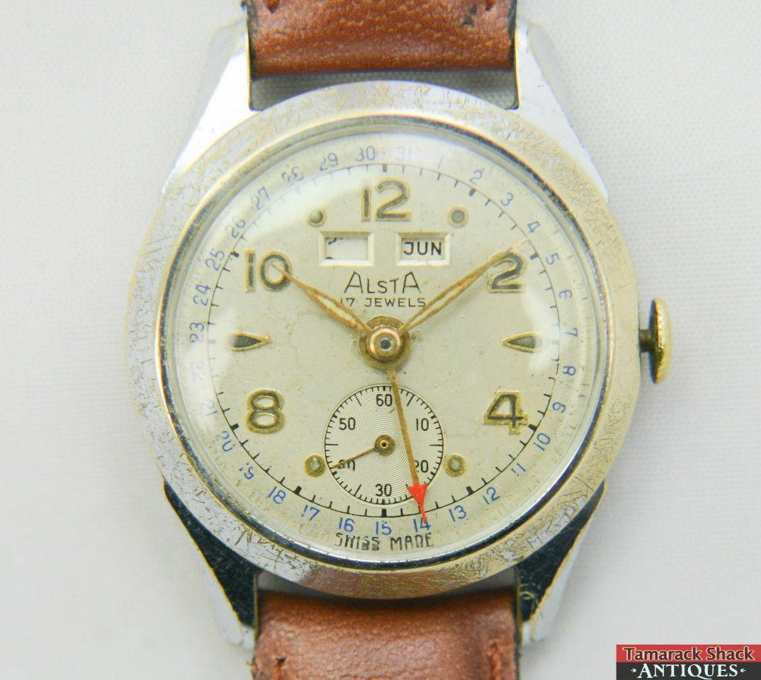 1940s-50s-Alsta-Triple-Date-Swiss-Venus-204-Wrist-Watch-Runs-for-Repair-14897-361333877724-2.jpg