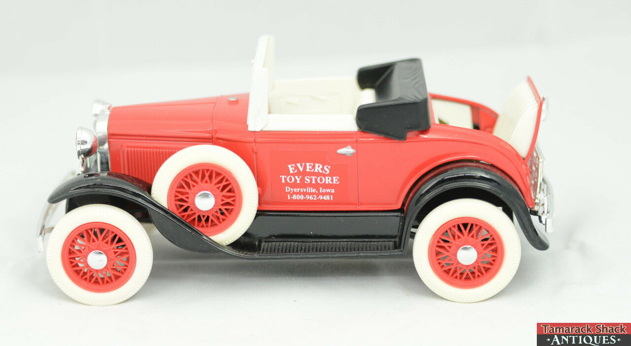 Liberty classics ford model a roadster 1507 evers toy for Ford s fish shack menu