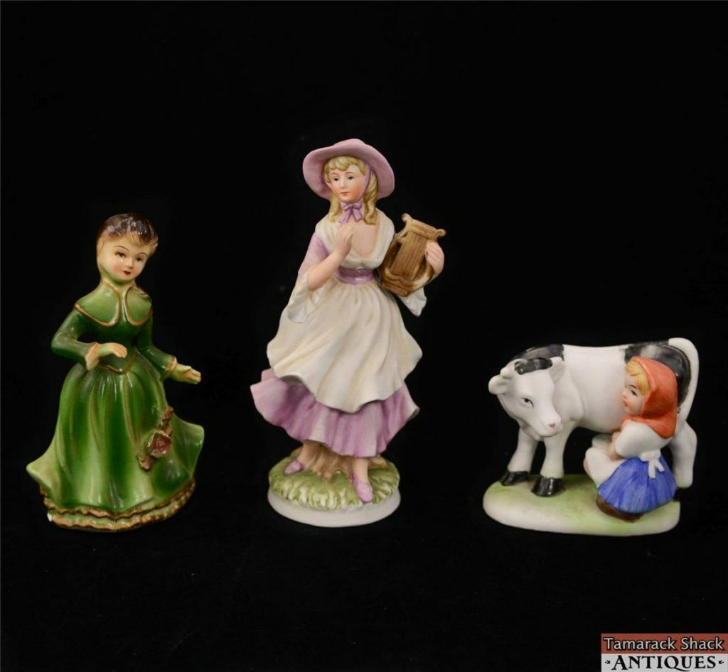 Lot of Japan Cow Figurines