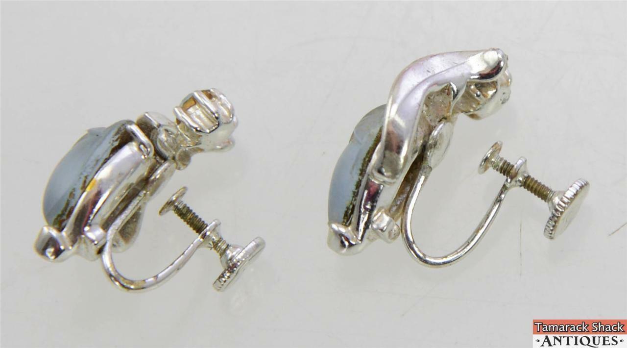 antique screw back earrings