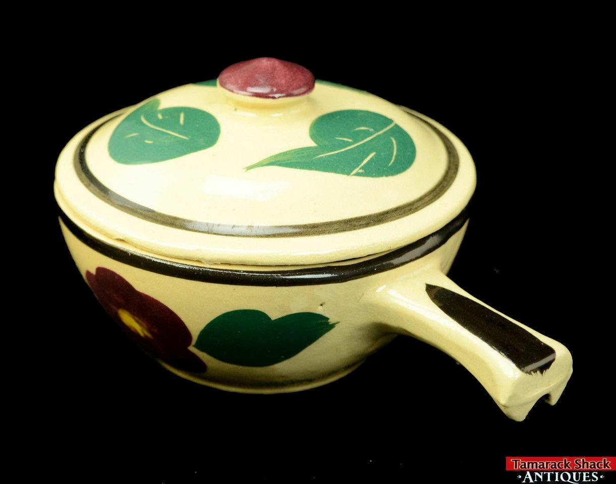Watt-Pottery-Yellow-Ware-Individual-Covered-Stick-Casserole-Lid-Rio-Rose-VTG-L5Y-291840827404-4.jpg