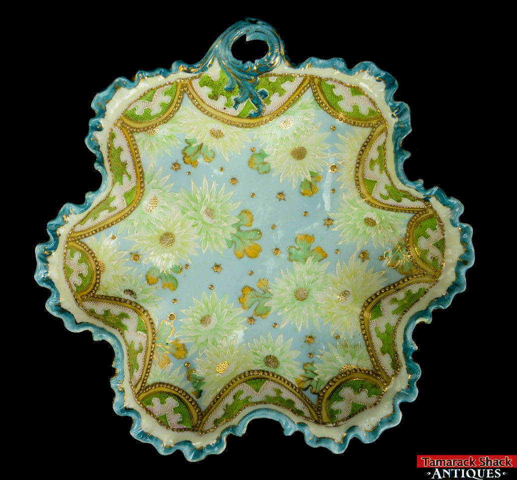 19th-Century-Hand-Painted-Moriage-Scalloped-Floral-and-Lace-Bowl-With-Handle-L8Y-361675509835-6.jpg