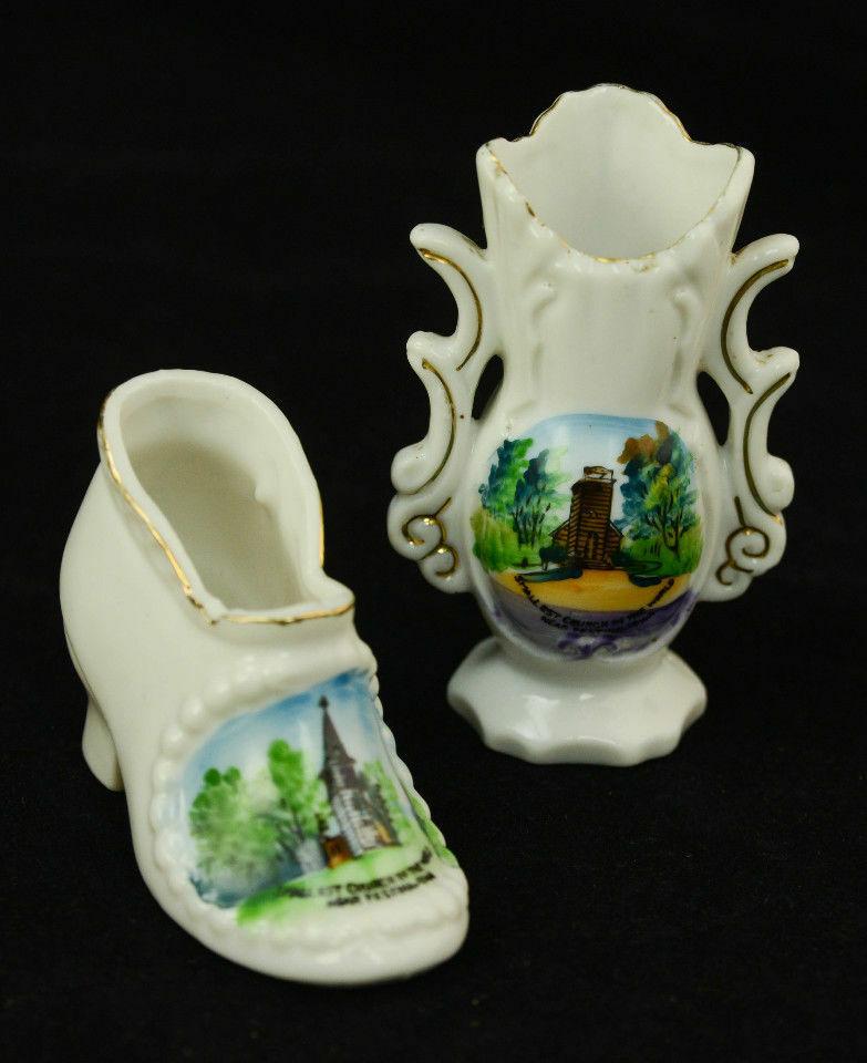 Pair-Souvenir-Shoe-Vase-Smallest-Church-World-Festina-Neshua-Iowa-Porcelain-VTG-361680256405-7.jpg