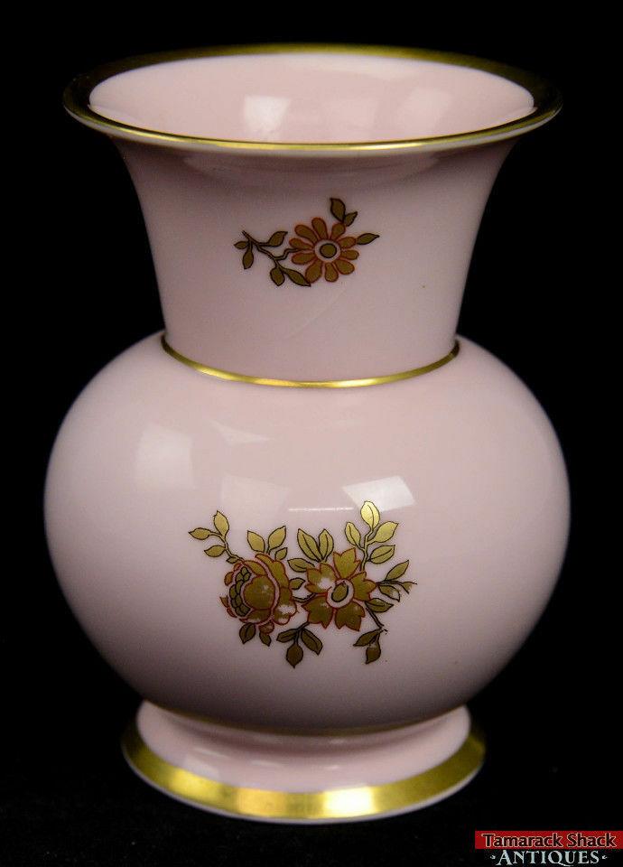 Volkstedt-Rudolstadt-Beyer-Bock-Germany-Porcelain-Vase-Pink-Gold-Floral-Bands-361427663645-2.jpg