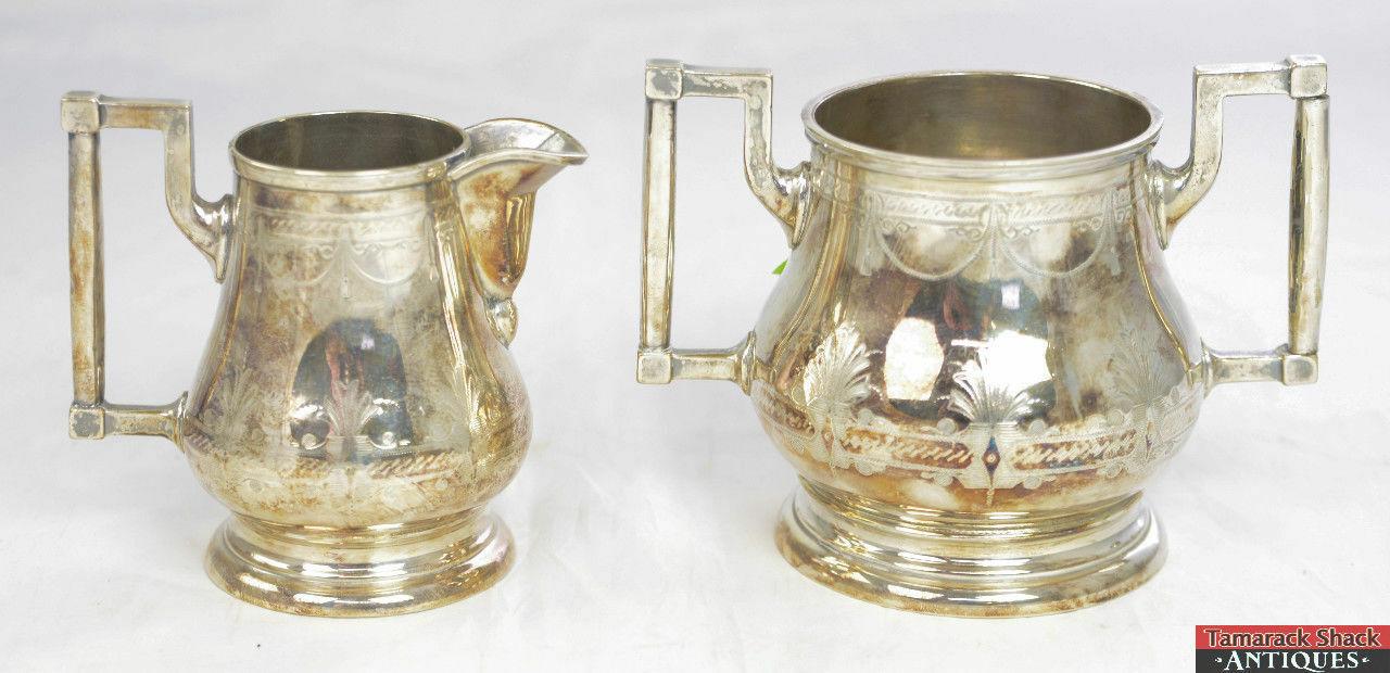 Antique-4pc-John-O-Mead-Engraved-Silver-Plate-Creamer-Sugar-Two-Tea-Pots-L3X-361468673967-11.jpg