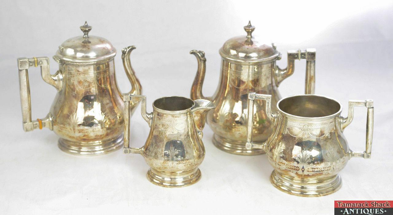 Antique-4pc-John-O-Mead-Engraved-Silver-Plate-Creamer-Sugar-Two-Tea-Pots-L3X-361468673967-2.jpg