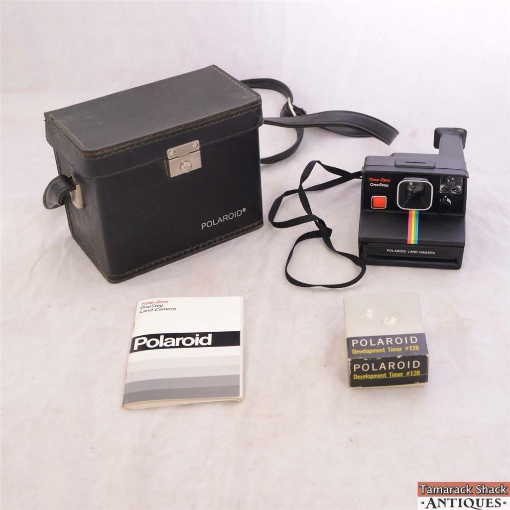 polaroid one step land camera sx 70 instant camera vintage w  case timer manual ebay sx700 manual sx 70 repair manual