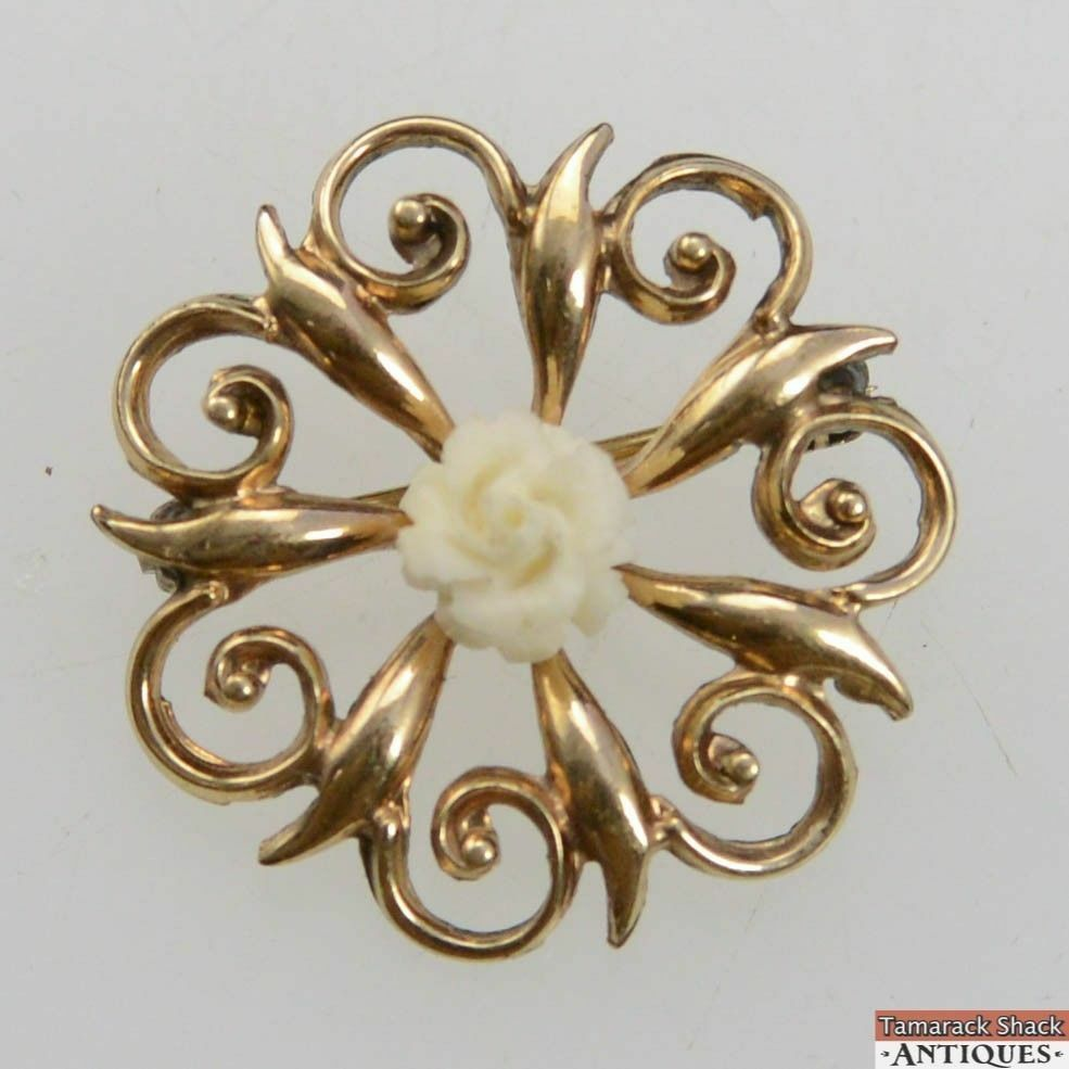 Vintage-WRF-Gold-Filled-Swirl-Brooch-Pin-Carved-Rose-Center-1-18-120-12K-GF-360826741928.jpg