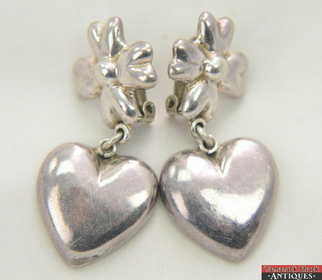 Pair-of-Mexican-Sterling-Silver-925RHC-Clip-4-Petaled-Flower-Hanging-Heart-Taxco-361333140469.jpg