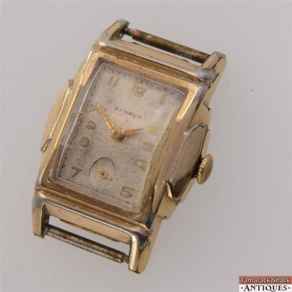 Vintage Benrus Swiss 17j Wrist Watch