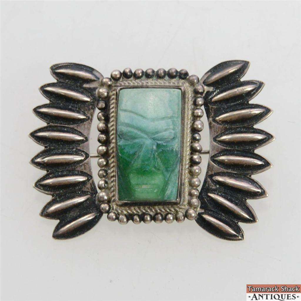 Vintage-Mexico-Sterling-Silver-Carved-Chrysoprase-Brooch-Pin-Aztec-Warrior-Face-291053127719.jpg