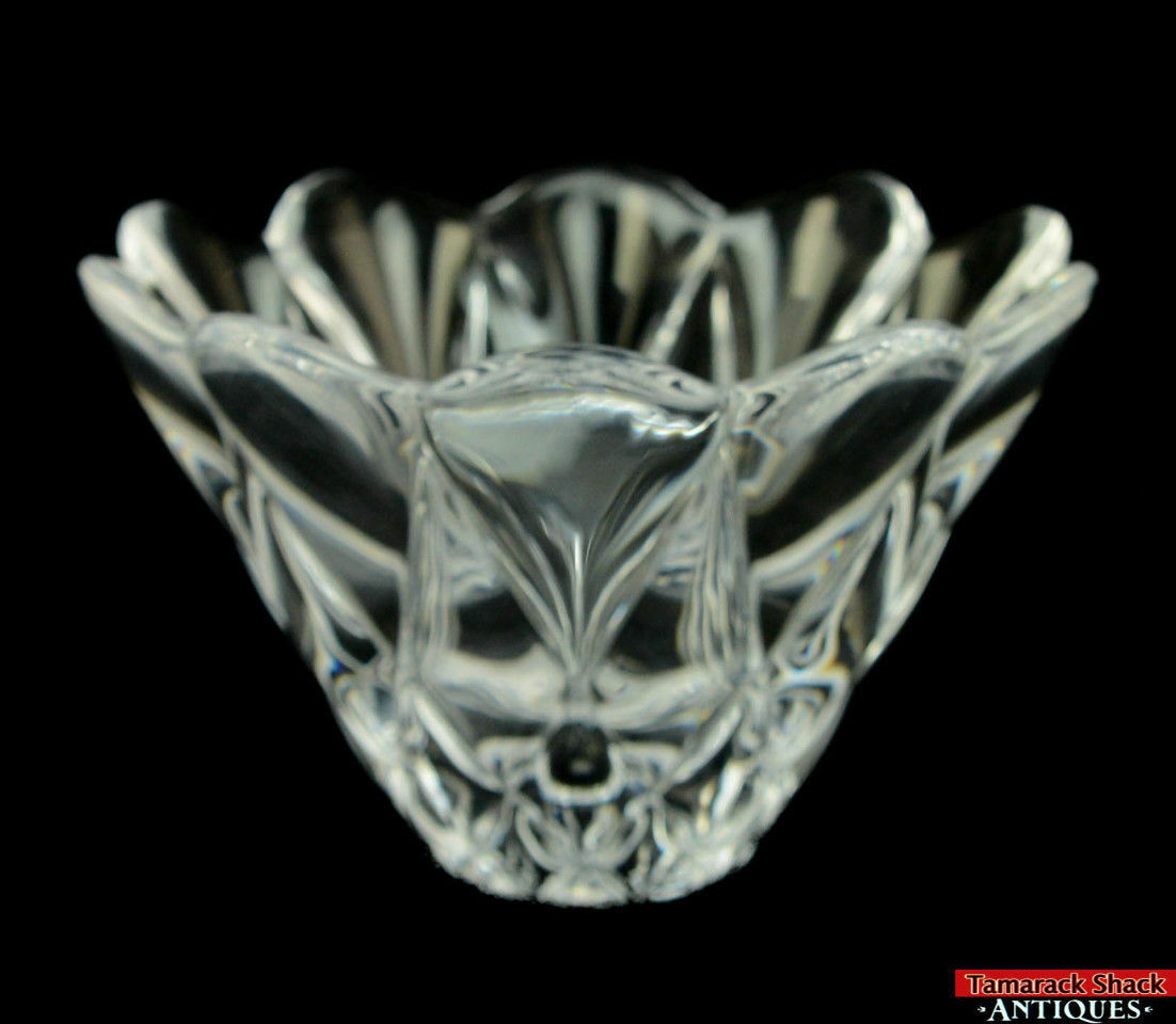 Vtg-Antique-Clear-Crystal-Glass-Kosta-Quilt-Flower-Heavy-Vase-Candy-Bowl-L9Y-361680295809-3.jpg